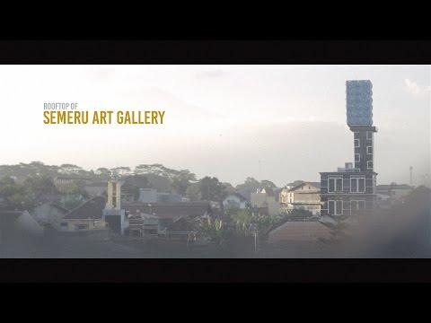 Rooftop of Semeru Art Gallery Malang