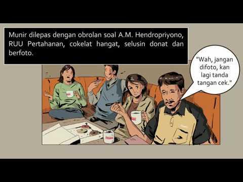 Detik-Detik Aktivis Munir Diracun di Pesawat