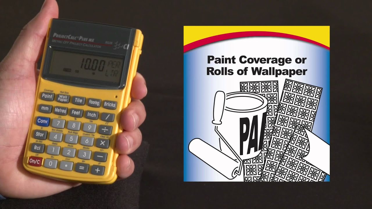 ProjectCalc Plus MX Paint And Wallpaper How To Calculated Industries