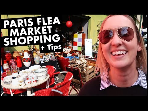 Paris Flea Market Shopping + Tips