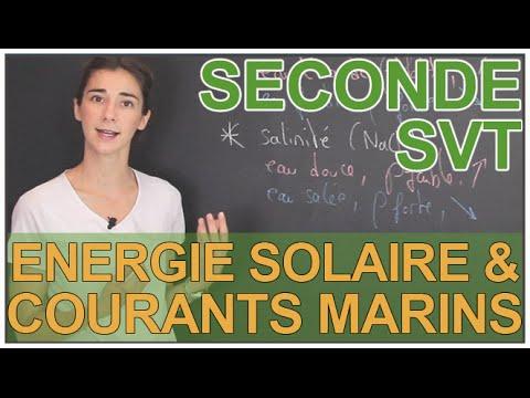 Énergie solaire & courants marins - SVT - Seconde - Les Bons Profs