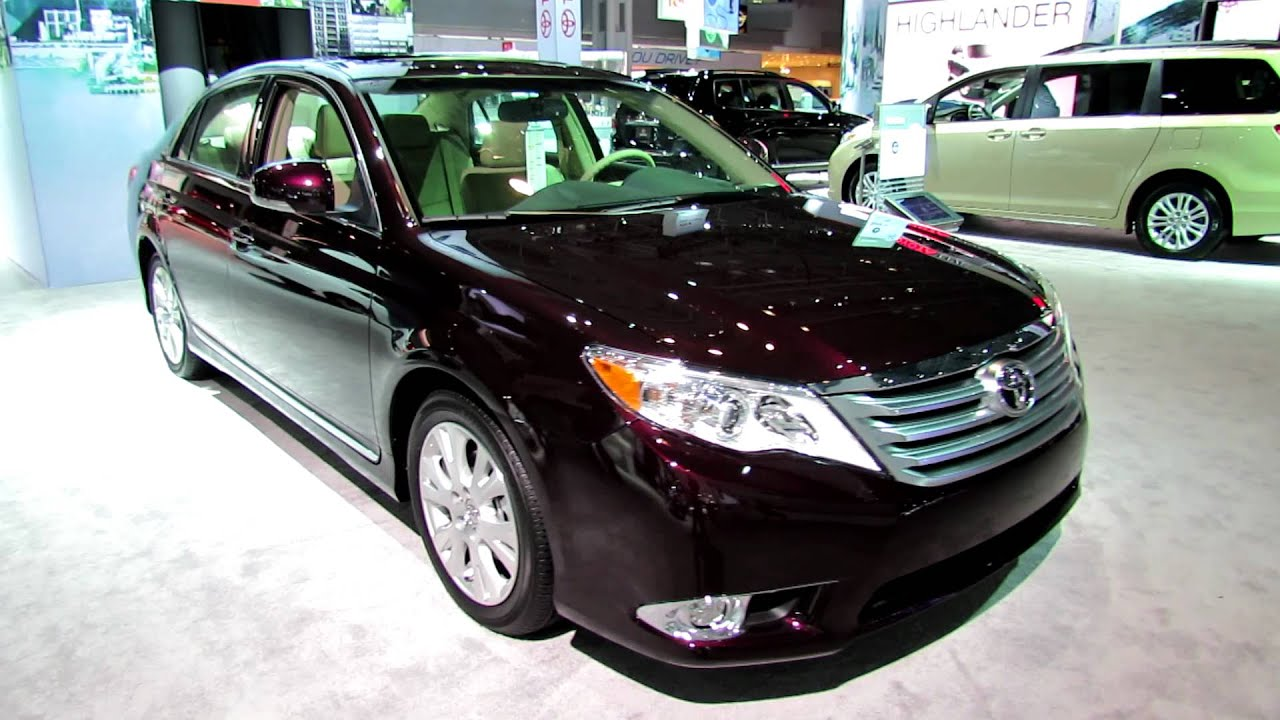2012 toyota avalon exterior and interior at 2012 new york international auto show youtube. Black Bedroom Furniture Sets. Home Design Ideas