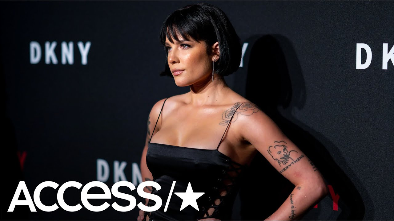 Halsey Shows Off A Lot Of Leg (And Everything Else) At DKNY's 30th Birthday Event