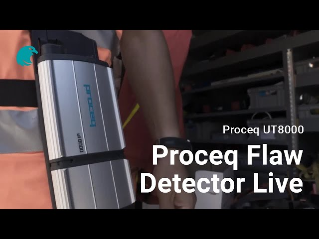 Proceq Flaw Detector Live I Proceq UT8000