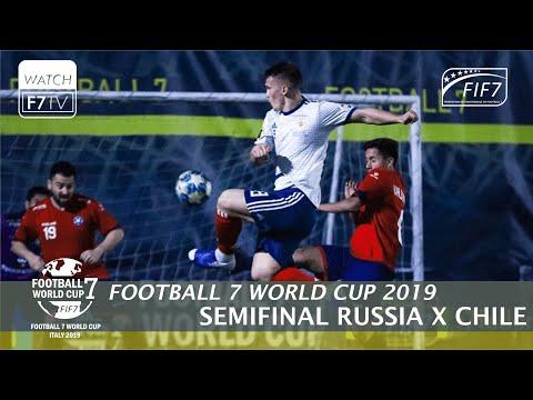 Russia Vs. Chile - Football 7 World Cup 2019 - Semifinal (Men)