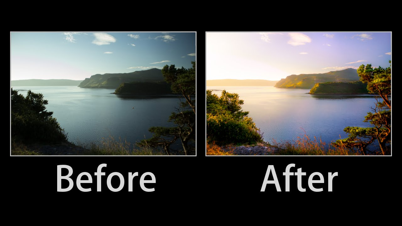 Landscape Photography Editing in Lightroom - Lightroom 6 cc Advanced Tutorial From Start to ...