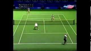 Mary Pierce/Martina Hingis vs Lisa Raymond/Rennae Stubbs Australian Open Doubles Final 2000