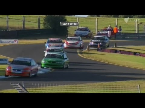 2015 Super Six Touring Cars - Sandown - Race 3