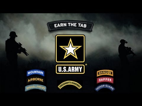 U.S. Army - Earn The Tab
