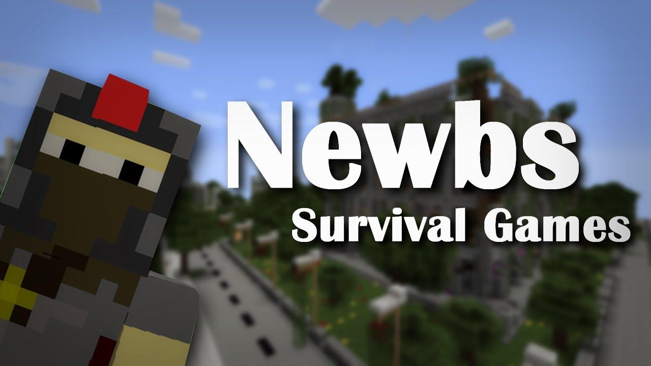 Download Newbies: Survival Games (Minecraft Machinima)