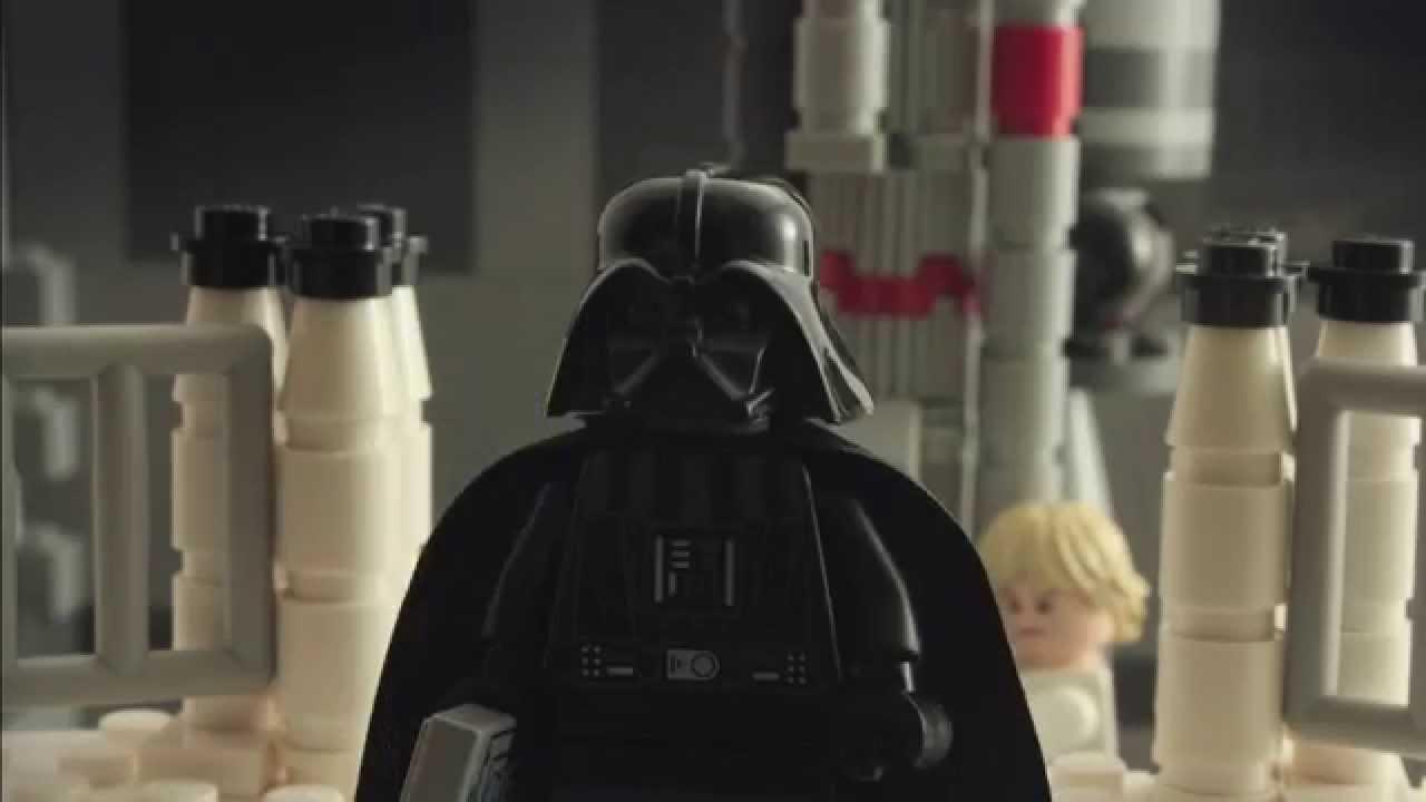 Lego Happy Birthday From Darth Vader Youtube