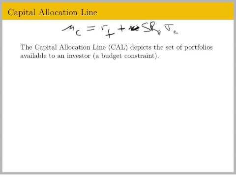 Econ 133, Lecture 8 - Asset Allocation