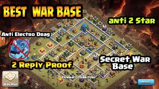 Clash Of Clans - 100% Best War Base Th12 Anti 1 Star Reply Proof | Th12 Best War Base 2018 anti 2