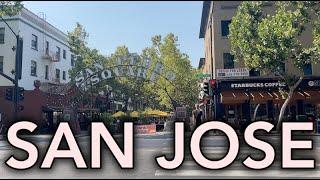 Downtown San Jose California Tour 2021