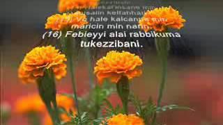 Kamer 50 55 Rahman 1 16 Latin harfli,meali,sesli