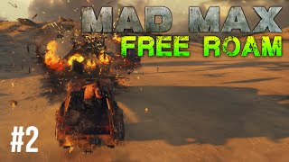 Mad Max Free Roam Gameplay #2 - Hot Air Balloon (Mad Max Single Player Free Roam)
