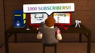 Faire une chaîne YouTube INSIDE OF ROBLOX.