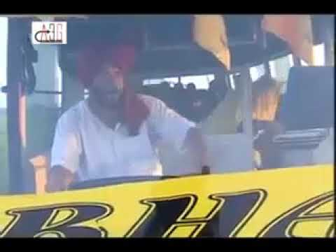 Bus Driver and old woman funny Punjabi