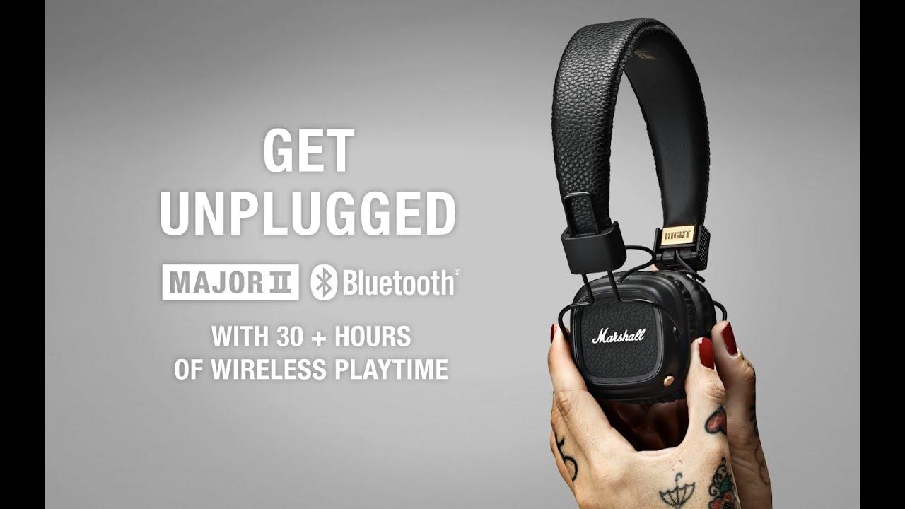 Marshall Major Ii Bluetooth Headphone Product Overview Youtube