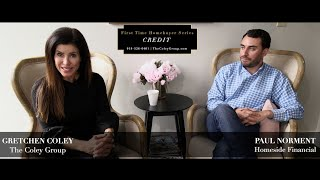 Gretchen Coley Properties: First Time Homebuyer - Credit