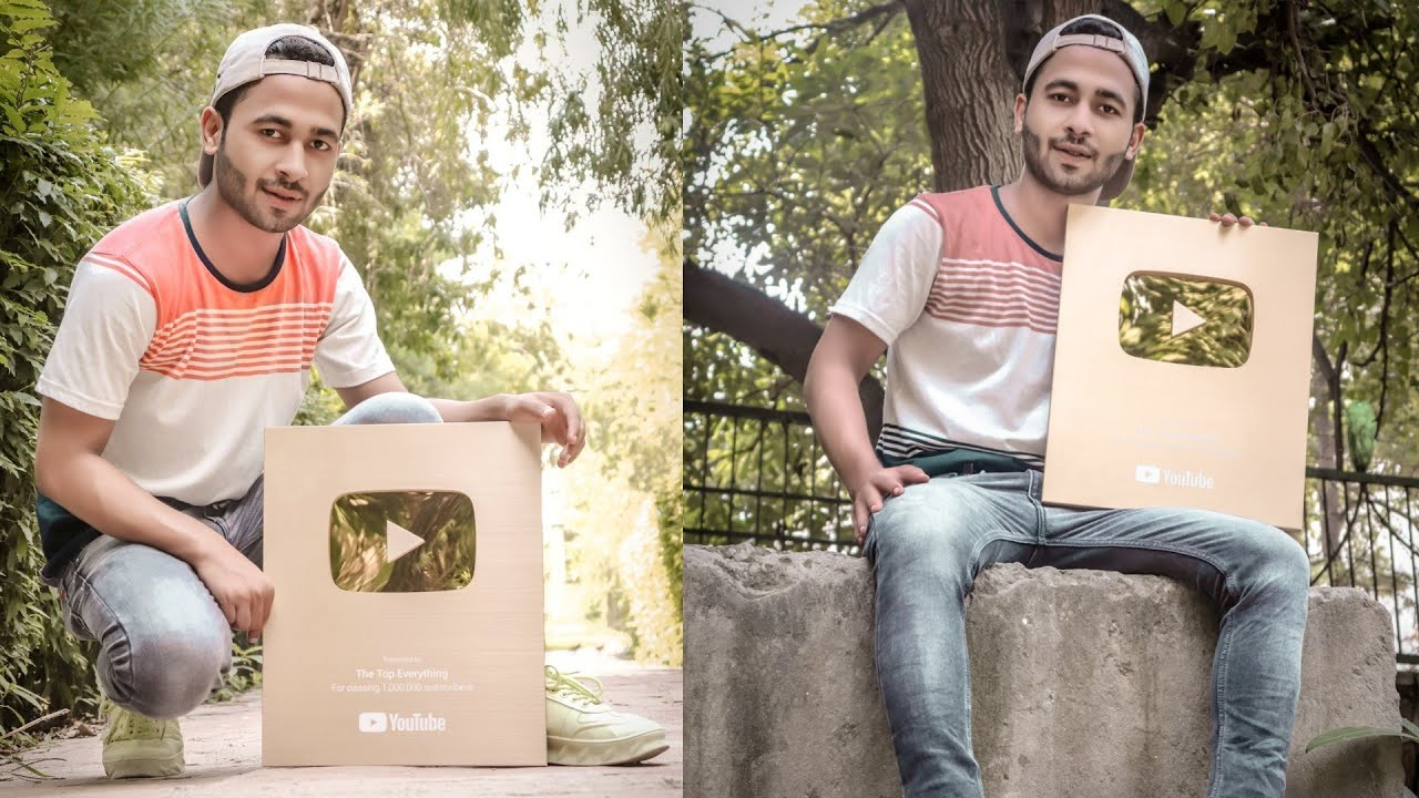 Unboxing YouTube Golden Play Button   The Top Everything