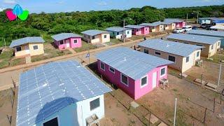 Nicaragua: Gobierno Sandinista inauguran viviendas y calle de acceso en Granada