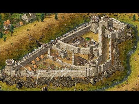 stronghold- -ep.-09- -custom-castle-building-&-defending-from-invasion- -stronghold-hd-gameplay