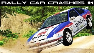 Beamng drive | rally crashes extreme #1 (real voices)