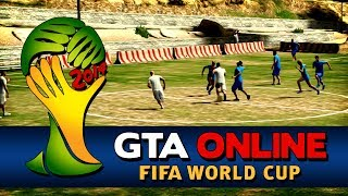 GTA Online - FIFA World Cup Brazil 2014 - England vs Italy(FIFA World Cup Brazil 2014 in GTA Online - It's Italy against England! Play the