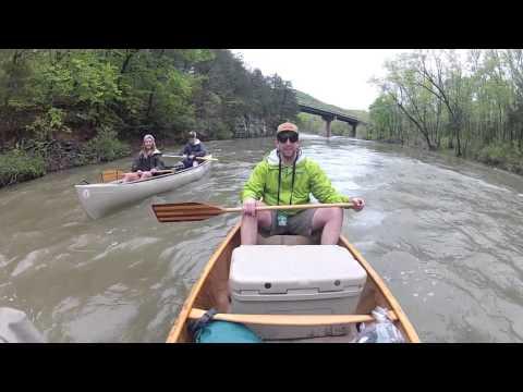Buffalo River Arkansas Canoe Trip GoPro