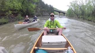 Buffalo River Arkansas Canoe Trip GoPro