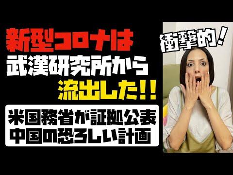 【衝撃的】米国務省が証拠公表「新型コロナは武漢ウイルス研究所から流出した!」