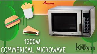 Amana 1200W Commercial Microwave (RFS12TS)