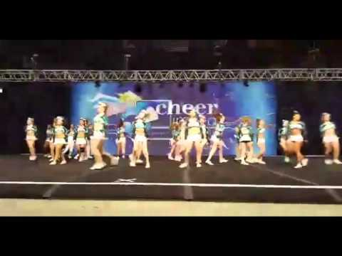 Cheer Extreme Richmond - Xclusive Level 4 Senior Large Coed (2016)
