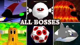 Kirby 64: The Crystal Shards - All Bosses (No Damage)