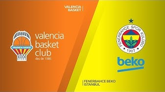 Valencia Basket - Fenerbahce Beko Istanbul Highlights | Turkish Airlines EuroLeague, RS Round 26