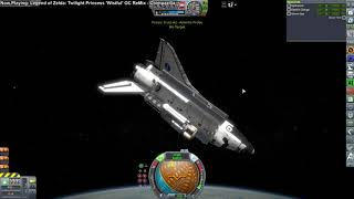 Kerbal Space Program - Shuttle-Constructed Mars Mission 02
