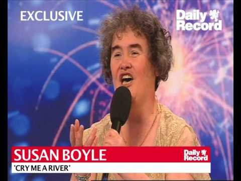 Exclusive: Cry Me A River -  Susan Boyle's first ever music release
