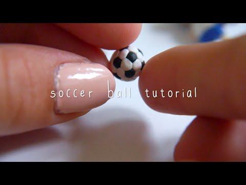 soccer ball tutorial (polymer clay)