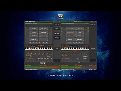 KORG PA Manager v2 - SOUND Manager [Türkçe]