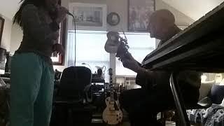With Buzzy Orange and his new Harmonizer