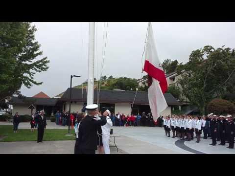 Sea Scout Ancient Mariner's Regatta Flag Ceremony, May 29, 2017