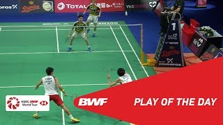 Download Video Play Of The Day | DANISA DENMARK OPEN 2018 F | BWF 2018 MP3 3GP MP4