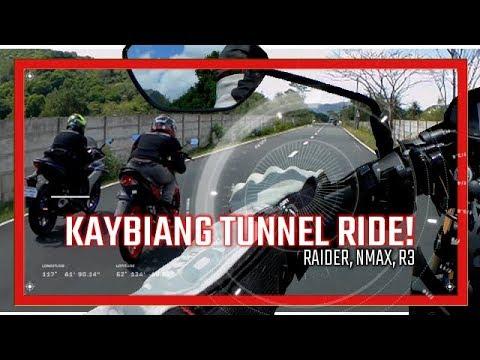 Kaybiang Tunnel Chill Ride | Raider 150, Yamaha NMax, R3