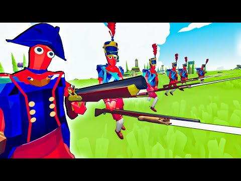 TABS - Napoleon's Bayonet Charge Vs The World In Totally Accurate Battle Simulator!