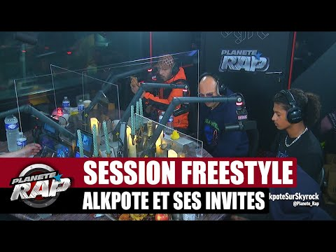 Youtube: Grosse session freestyle avec Alkpote, Luv Resval, The S, Holly, Savage Toddy & Emsko #PlanèteRap