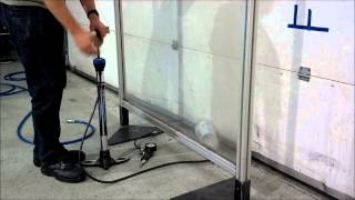 pressure test blowing up 2litre juice bottle with a bike pump, explosion drinks