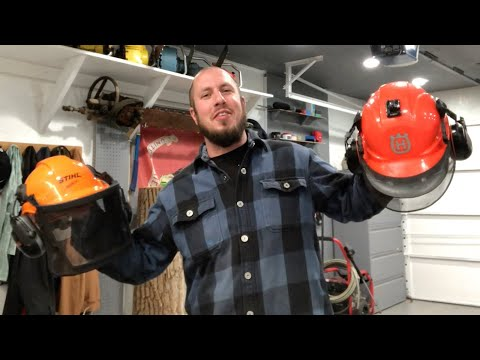 Husqvarna VS Stihl - Forestry Helmet Debate!