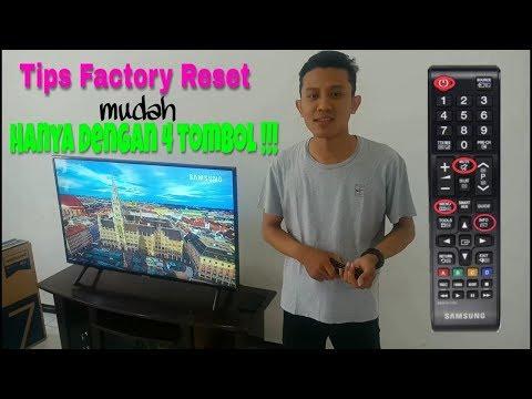 Tutorial FACTORY RESET PADA TV LED SAMSUNG
