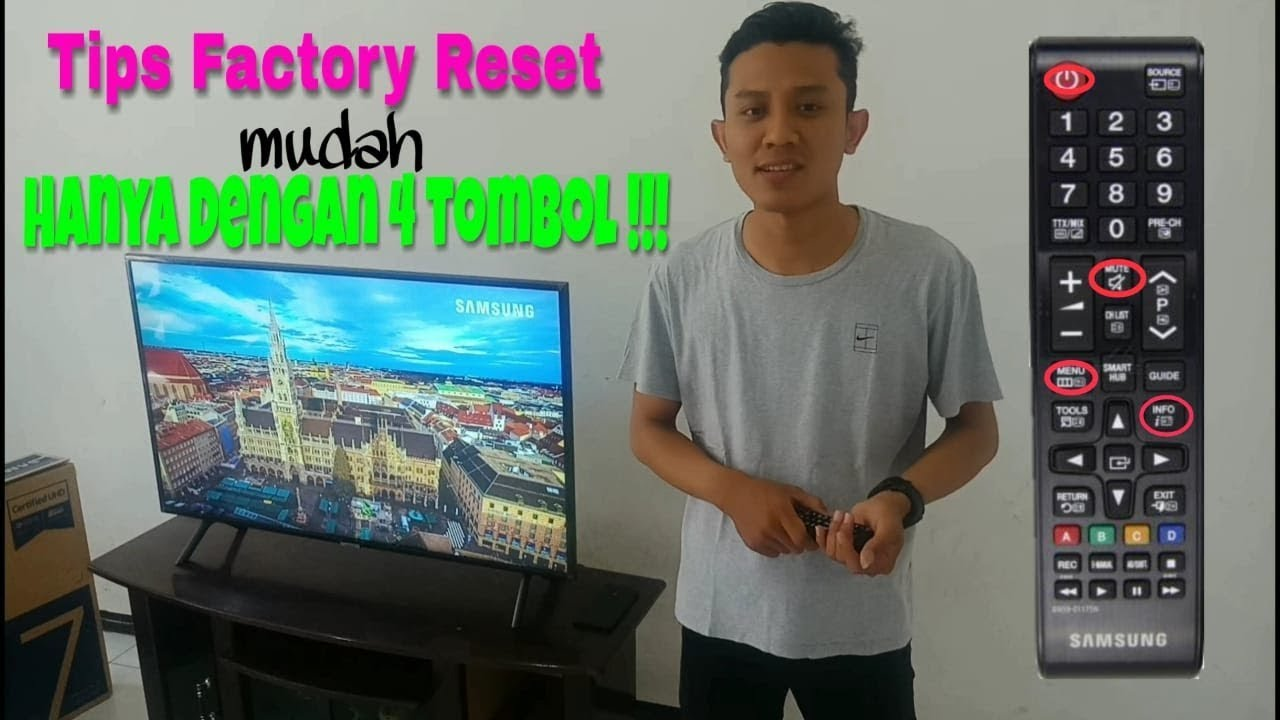 tutorial factory reset pada tv led samsung